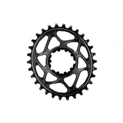 Klinge Absolute Black oval - Sram GXP  sort