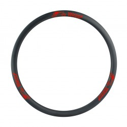 700C GRAVEL/CYCLOCROSS CARBON Premium Clincher Fælge 29 MM bred - 30MM Profil