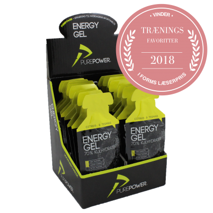 Pure Power Energy Gel citrus-te 18 Stk.