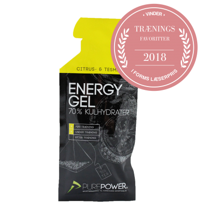 Pure Power Energy Gel citrus-te 1 Stk.