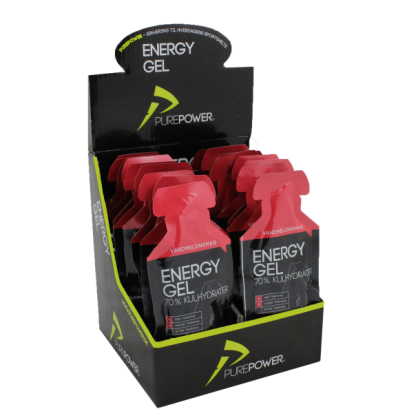 Pure Power  Energy  Gel Vandmelon 18 Stk.