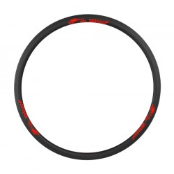 700 C Carbon Clincher Premium Fælge 40 MM